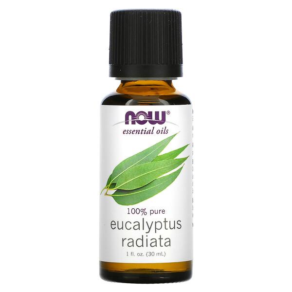Эфирные масла, эвкалипт, 1 жидкая унция (30 мл)