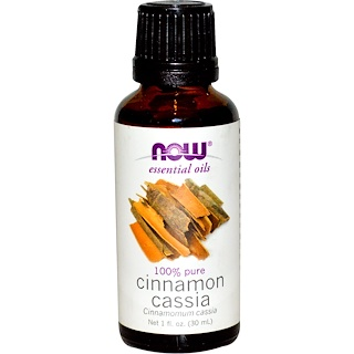 Now Foods, Essential Oils, Cinnamon Cassia, 1 fl oz (30 ml)