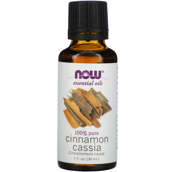 Now Foods, Óleos Essenciais, Cinnamomum cassia, 30 ml (1 fl oz)