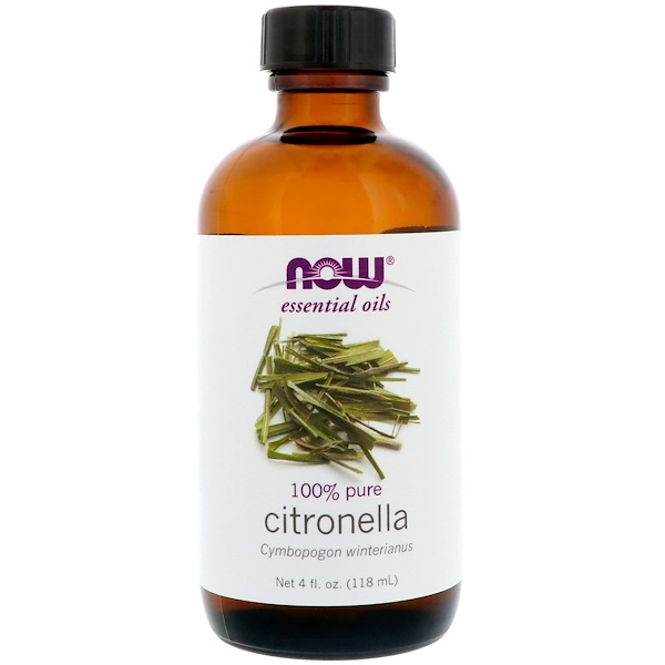 Essential Oils, Citronella, 4 fl oz (118 ml)