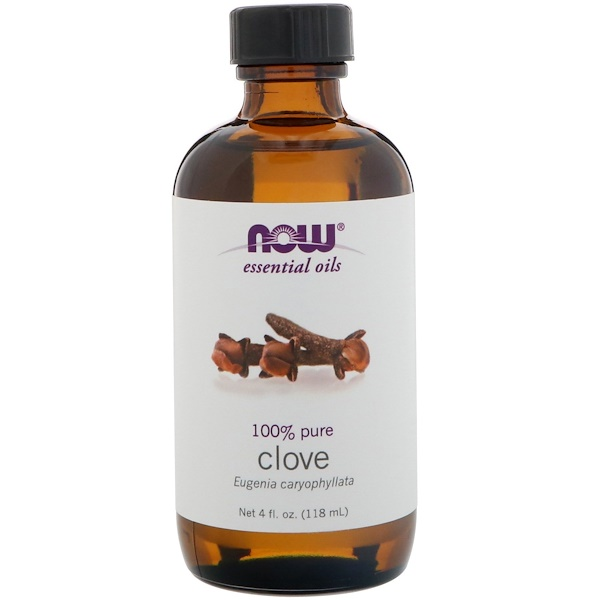 Now Foods Essential Oils Clove 4 fl oz 118 ml