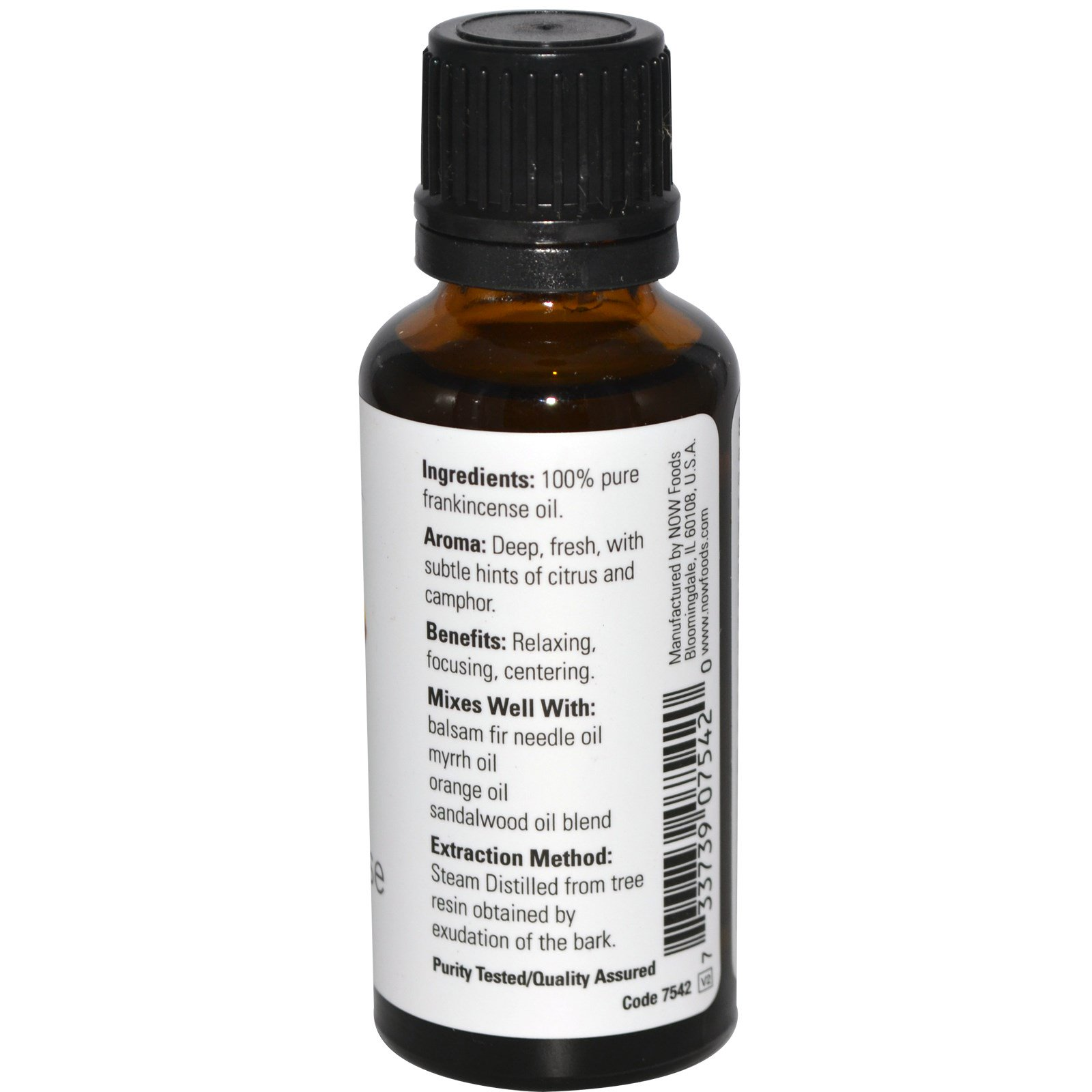Now Foods, Essential Oils, Frankincense, 1 fl oz (30 ml)