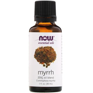 Now Foods, ─therische ╓le, Myrrhe, 20 % ╓lmischung, 1 fl.oz. (30 ml)