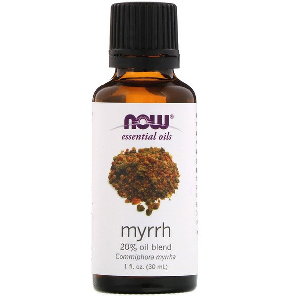 Essential Oils, Myrrh, 20% Oil Blend, 1 fl oz (30 ml)