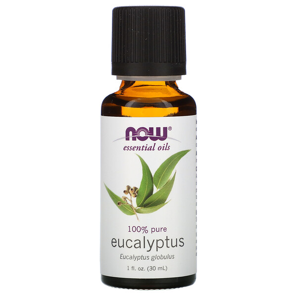 Essential Oils, Eucalyptus, 1 fl oz (30 ml)