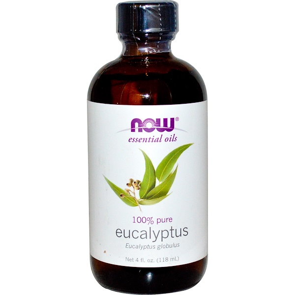 Now Foods, Essential Oils, Eucalyptus, 4 fl oz (118 ml) (Discontinued Item)