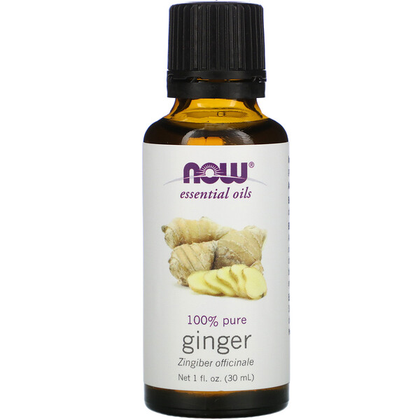 Now Foods, Essential Oils, Ginger, 1 fl oz (30 ml)