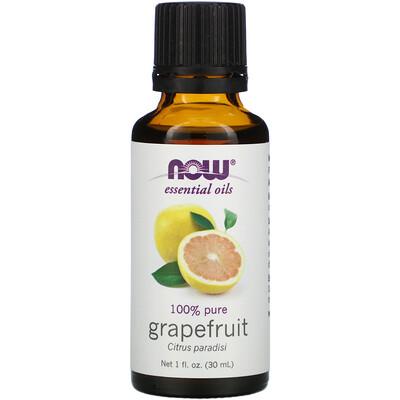 Купить Now Foods Эфирные масла, грейпфрут, 1 жидкая унция (30 мл)