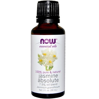 Now Foods, Essential Oils, Jasmine Absolute, 1 fl oz (30 ml)