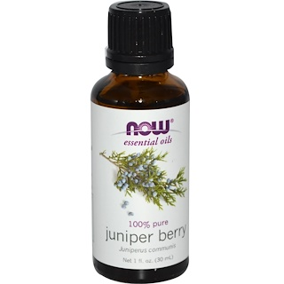 Now Foods, Essential Oils, Juniper Berry, 1 fl oz (30 ml)