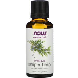 Now Foods, Essential Oils, Juniper Berry, 1 fl oz (30 ml) отзывы покупателей