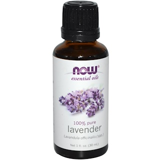 Now Foods, Essential Oils, Lavender, 1 أونصة سائلة (30 مل)