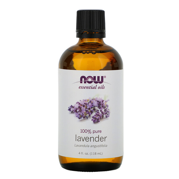 Essential Oils, Lavender, 4 fl oz (118 ml)