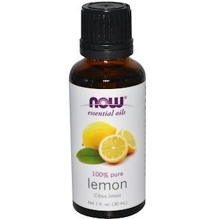Now Foods, Aceites Esenciales, Limón, 1 fl oz (30 ml)
