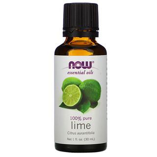 Now Foods, Essential Oils, Lime, 1 fl oz (30 ml)