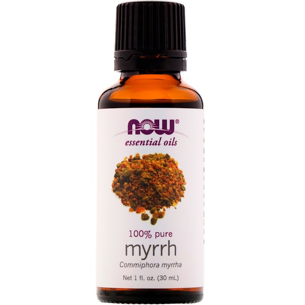 Now Foods, Huiles essentielles, myrrhe, 30 ml (1fl oz)