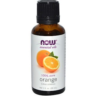 Now Foods, Óleos Essenciais, Laranja, 1 fl oz (30 ml)
