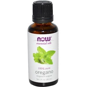 Now Foods, Essential Oils, Oregano, 1 fl oz (30 ml) отзывы покупателей