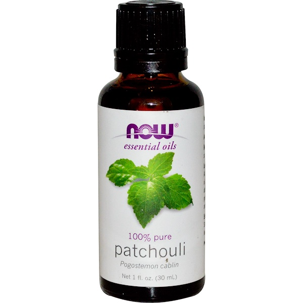 Now Foods, Huiles essentielles, patchouli, 30 ml