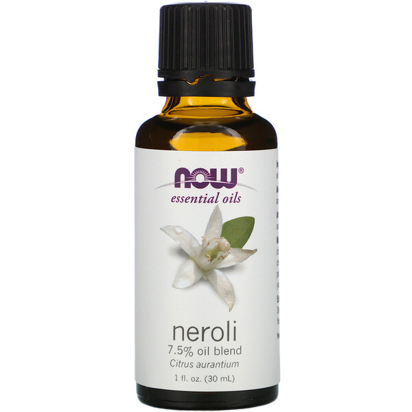 Now Foods, Mezcla de Aceites Neroli, 1 fl oz (30 ml)
