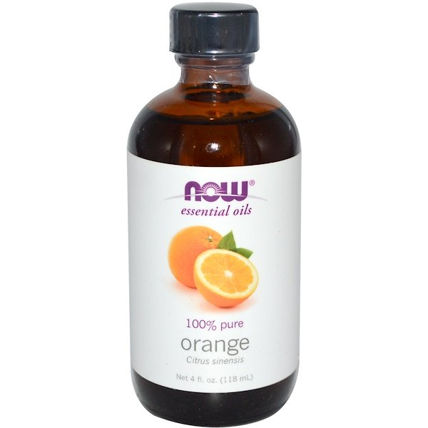 Now Foods, Essential Oils, Orange, 4 fl oz (118 ml) (Discontinued Item)