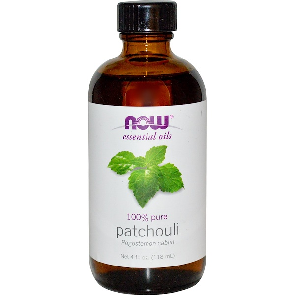 Now Foods, Essential Oils, Patchouli, 4 fl oz (118 ml) (Discontinued Item)