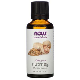 Now Foods, Essential Oils, Nutmeg, 1 fl oz (30 ml)