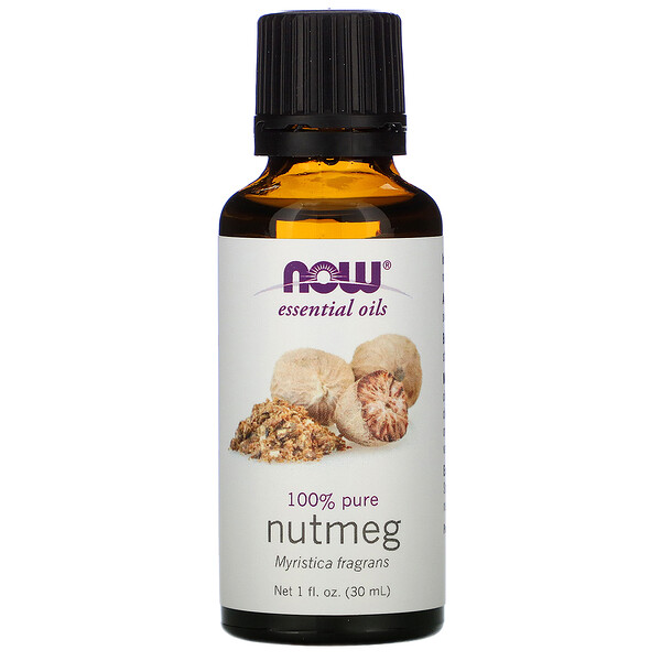 Essential Oils, Noz-moscada, 1 fl oz (30 ml)