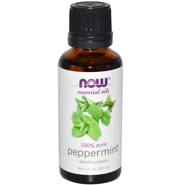 Essential Oils, Peppermint, 1 fl oz (30 ml)