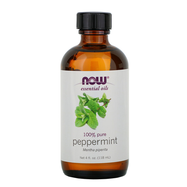 Essential Oils, Peppermint, 4 fl oz (118 ml)