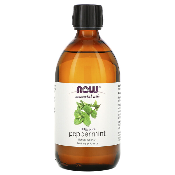 Essential Oils, Peppermint, 16 fl oz (473 ml)
