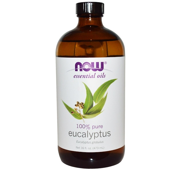 Now Foods, Essential Oils, Eucalyptus, 16 fl oz (473 ml) (Discontinued Item)