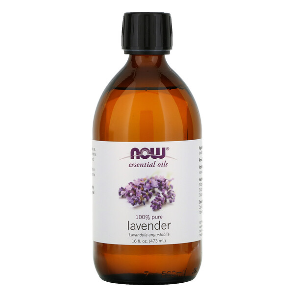 Now Foods, Essential Oils, Lavender, 16 fl oz (473 ml)