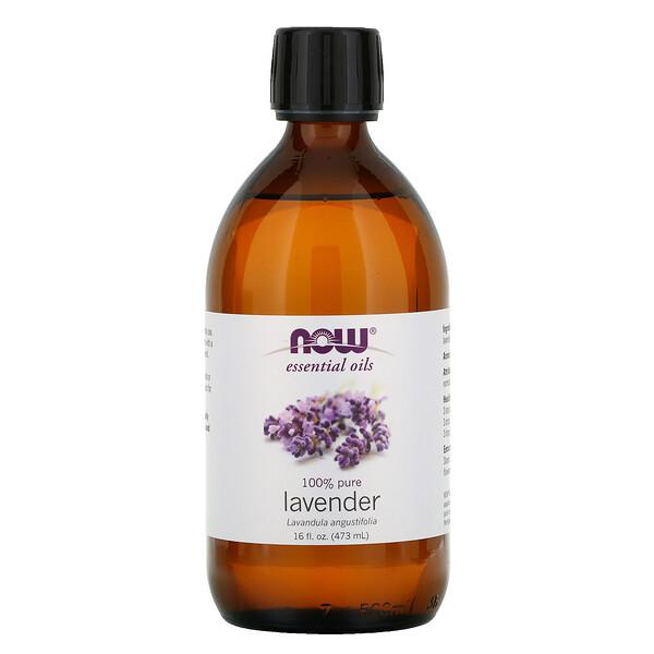 Aceites Esenciales, Lavanda 100% Pura, 16 fl oz (473 ml)
