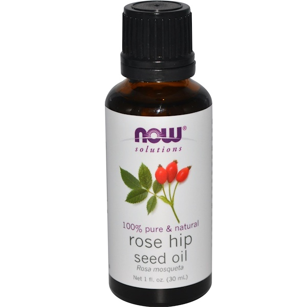 Now Foods, Solutions, Huile de rose musquée, 1 fl oz (30 ml)