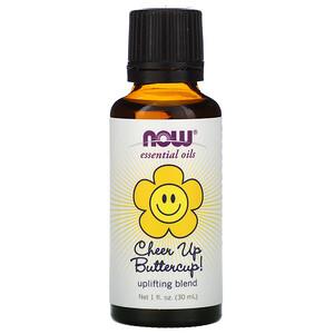 Now Foods, Essential Oils, Cheer Up Buttercup!, 1 fl oz (30 ml) отзывы покупателей