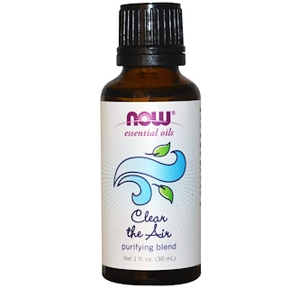 Now Foods, Essential Oils, Clear the Air, Purifying Blend, 1 fl oz (30 ml)