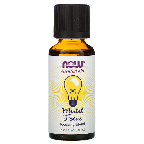 Essential Oils, Mental Focus, 1 fl oz (30 ml)