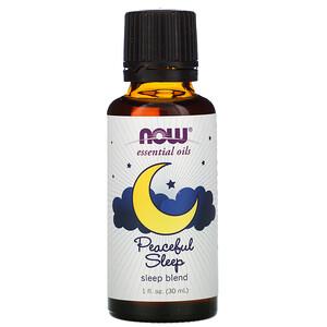 Now Foods, Essential Oils, Peaceful Sleep, 1 fl oz (30 ml) отзывы