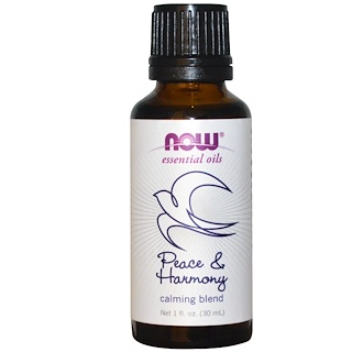 Now Foods, Essential Oils, Peace & Harmony, 1 fl oz (30 ml)