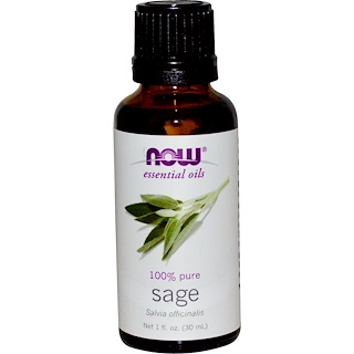 Now Foods, Essential Oils, Sage, 1 fl oz (30 ml)