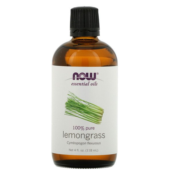 Essential Oils, Lemongrass, 4 fl oz (118 ml)