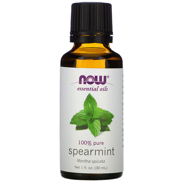 Essential Oils, Spearmint, 1 fl oz (30 ml)