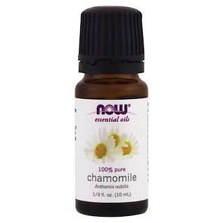 Now Foods, Aceites esenciales, manzanilla, 1/3 fl. Oz (10 ml)