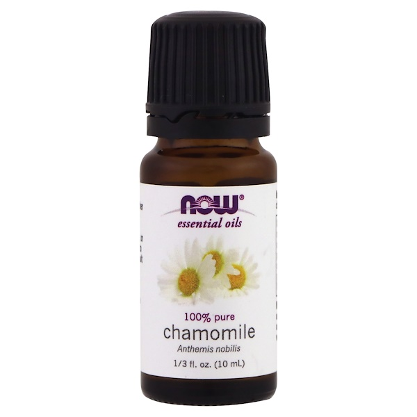 Now Foods, Huiles essentielles, camomille, 10 ml (1/3 fl oz)