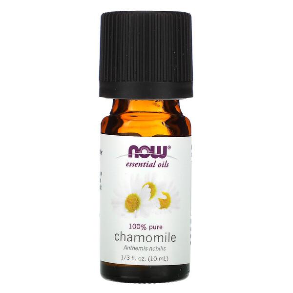 Aceites esenciales, manzanilla, 1/3 fl. Oz (10 ml)