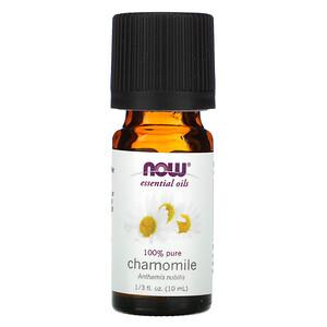 Now Foods, Essential Oils, Chamomile, 1/3 fl oz (10 ml) отзывы