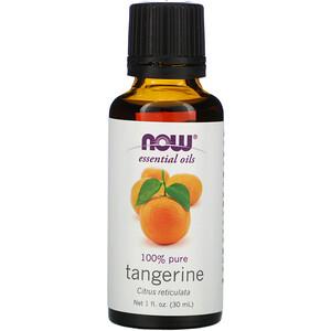 Now Foods, Essential Oils, Tangerine, 1 fl oz (30 ml) отзывы покупателей
