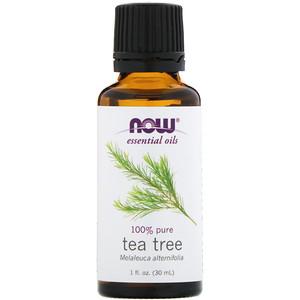 Now Foods, Эфирное масло чайного дерева, 1 жидкая унция (30 мл)