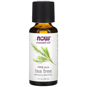 Now Foods, Essential Oils, Tea Tree, 1 fl oz (30 ml) отзывы покупателей